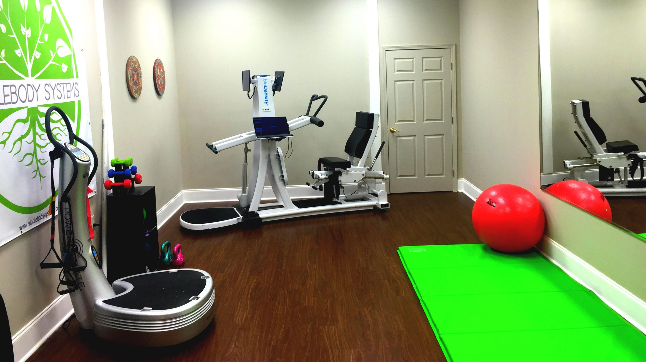 A look at our Roswell studio, located inside Bearor Family Chiropractic